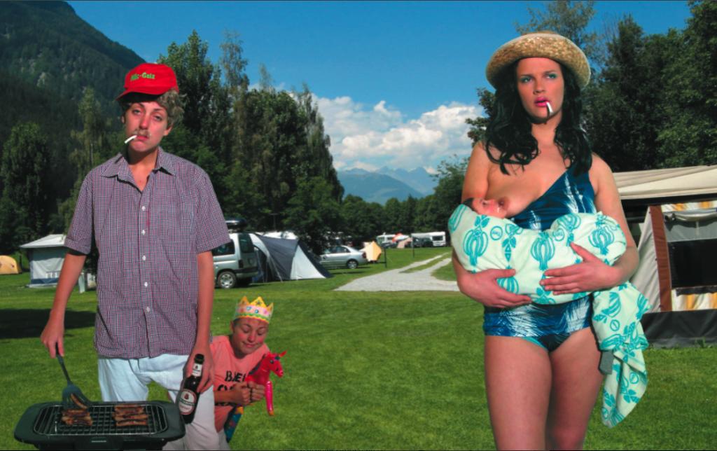 Campingplatz Family